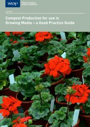 Compost Production for use in Growing Media – a Good ... - Wrap