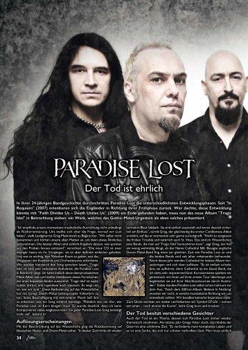 Paradise Lost - Roman Michael Schäfer