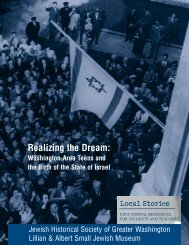 Student & Teacher Resources - Jewish Historical Society of Greater ...