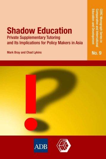 Shadow Education - DSpace at Khazar University