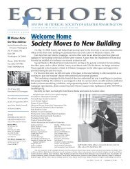 Society Moves to New Building - Jewish Historical Society of Greater ...