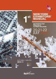 Download Exhibitors' Manual (pdf) - spinexpo