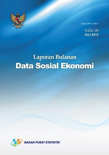 DAFTAR ISI - Badan Pusat Statistik