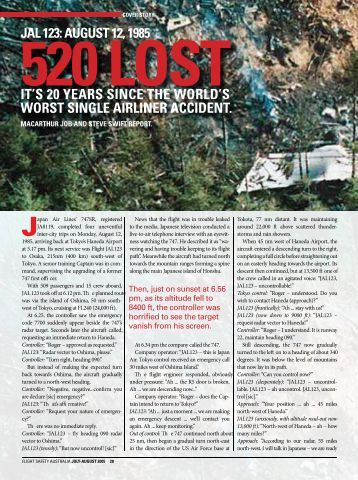 Flight Safety Australia - July-August 2005 pg28-33 - Civil Aviation ...