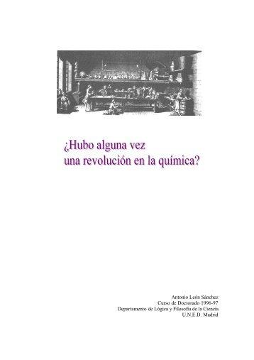 Antonio León Sánchez Curso de Doctorado 1996 ... - interciencia.es
