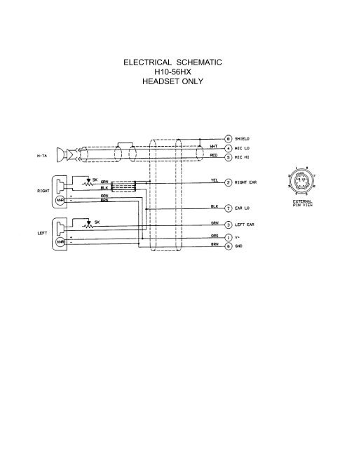 ELECTRICAL SCHEMATIC H10- on