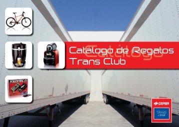 Catálogo de regalos Trans Club - Cepsa