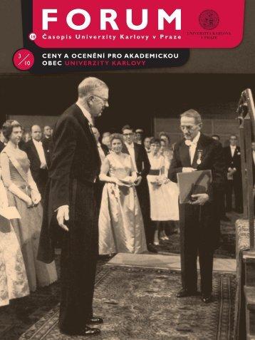 3 10 CENY A OCENĚNÍ PRO AKADEMICKOU OBEC UNIVERZITY KARLOVY ...