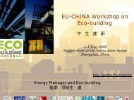Energy Management of Buildings - Eco - building Club