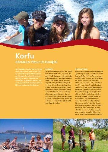 Korfu Abenteuer Natur im Honigtal - Windbeutel Reisen