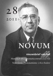 Novum 28 - Historisch Documentatiecentrum voor het Nederlands ...