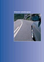 Alfabetisk innholdsfortegnelse hovedkatalogen (28 sider)