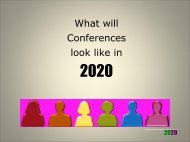 What conferences will look like in 2020 - Tourism Futures