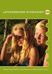 Lapsiperheiden hyvinvointi 2009 - Stakes - THL
