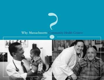 Why Massachusetts - Massachusetts League of Community Health ...