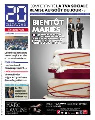 REMISE AU GOÛT DU JOUR P.12 - 20minutes.fr