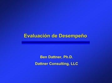 Evaluación de Desempeño - Dattner Consulting