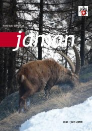 mai - juin 2008 www.cas-jaman.ch - Club Alpin Suisse Section Jaman