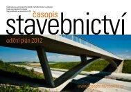 ediční plán 2012 - Časopis stavebnictví