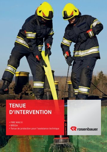 TENUE D'INTERVENTION - Rosenbauer International AG
