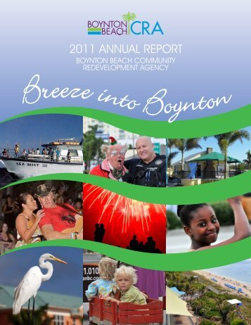 archive of previous Annual Reports - Boynton Beach CRA