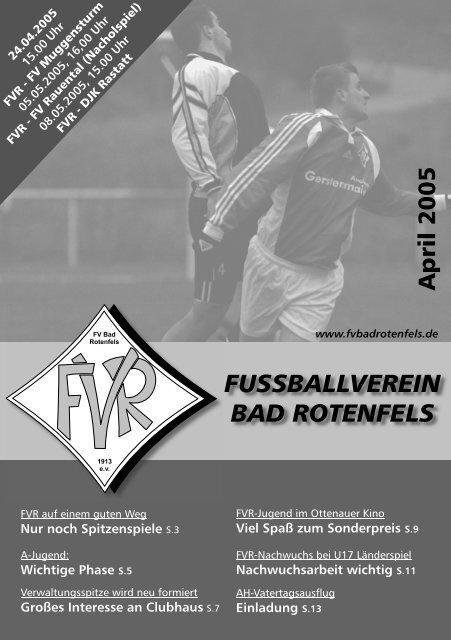April 2005 - FV Bad Rotenfels