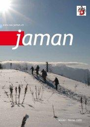 janvier - février 2008 www.cas-jaman.ch - Club Alpin Suisse Section ...
