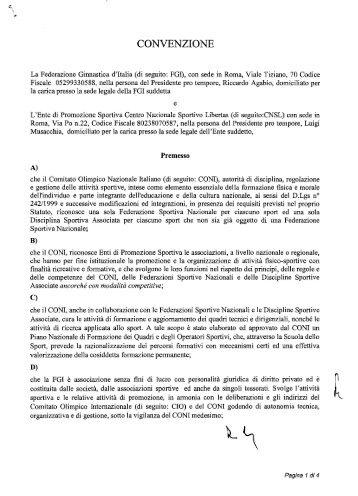 Federazione Ginnastica d'Italia - Libertas