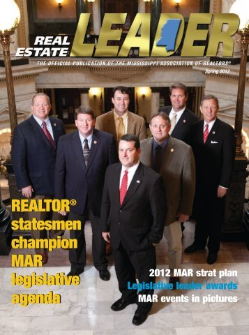 RE LEADER SPRING 2011 - Mississippi Association of REALTORS
