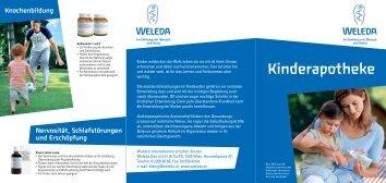 Kinderapotheke - Weleda