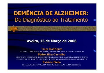 alzheimer do diagnostico ao tratamento - Forma-te