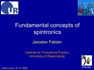 Fundamental concepts of spintronics