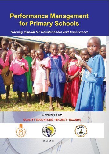 Performance Management for Primary Schools - LITERACY AND ...