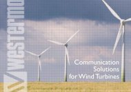 Communication Solutions for Wind Turbines