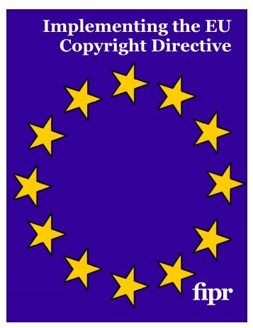 Implementing the EU Copyright Directive - Foundation for ...