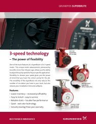 Grundfos Superbrute Brochure - Thermal Products Inc