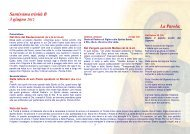 Santissima trinità B - Diocesi di Parma