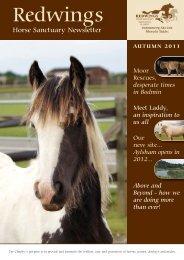 Autumn Newsletter 2011:Spring Newsletter 2010 - Redwings