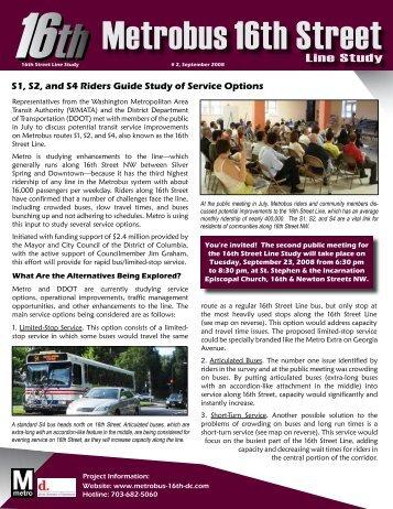 Newsletter # 2 - Metrobus Studies