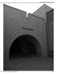2011-2013 Graduate Catalog - The University of Texas-Pan American