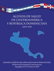 agenda de salud de centroamérica y república dominicana 2009-2018