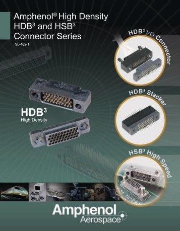 Amphenol High Density HDB3 connector.pdf - ECCO, Electronic ...