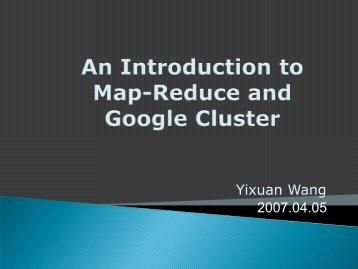Yixuan Wang 2007.04.05