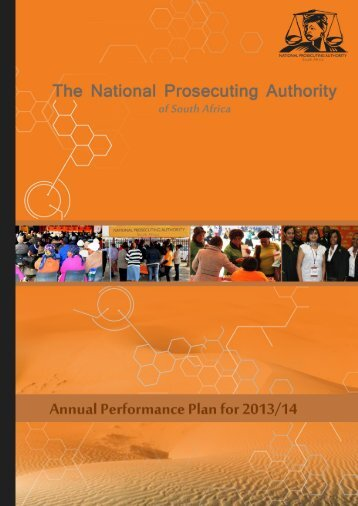 NPA Annual Performance Plan 2013-14 - National Prosecuting ...
