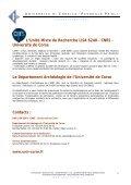 Dossier de presse expo - Università di Corsica Pasquale Paoli - Page 5