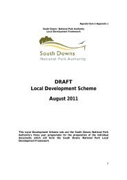 Agenda Item 5 Appendix 1 - South Downs National Park Authority