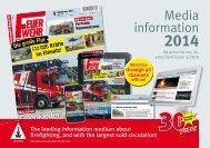 (Print issue, english) 2014 - Feuerwehr-Magazin