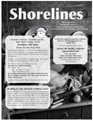 Shorelines - Lake Barrington Shores Condominium Association