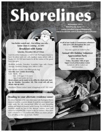 Shorelines - Lake Barrington Shores Condominium Association
