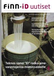 Lataa lehti pdf-versiona - Finn-ID